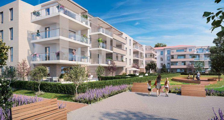 Photo du Résidence « Fleur d'Esterel » programme immobilier neuf en Loi Pinel à Saint-Raphaël