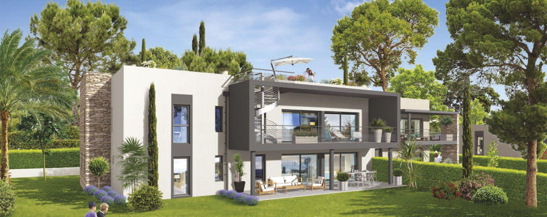 Saint-Raphaël : programme immobilier neuve « Garden Villa » en Loi Pinel