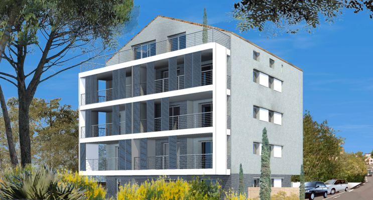 Résidence « Villa Augusta 2 » programme immobilier neuf en Loi Pinel à Saint-Raphaël
