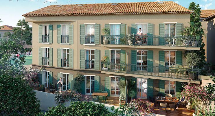Saint-Tropez : programme immobilier neuf « Demeure d'Oscar »