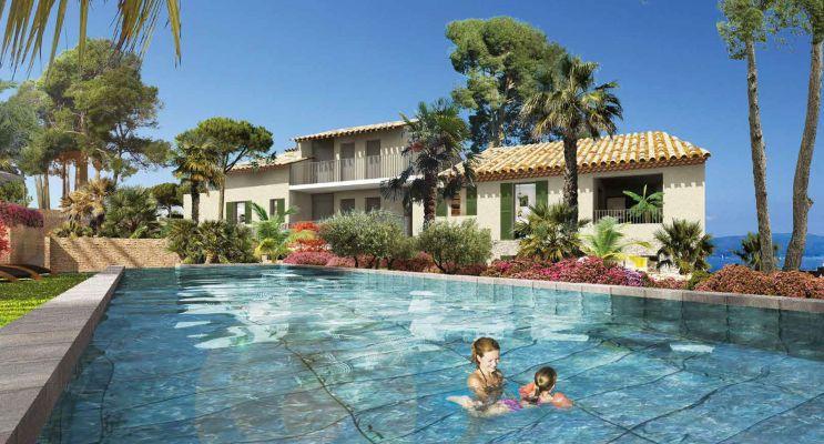 Sainte-Maxime : programme immobilier neuf « Ambre » en Loi Pinel
