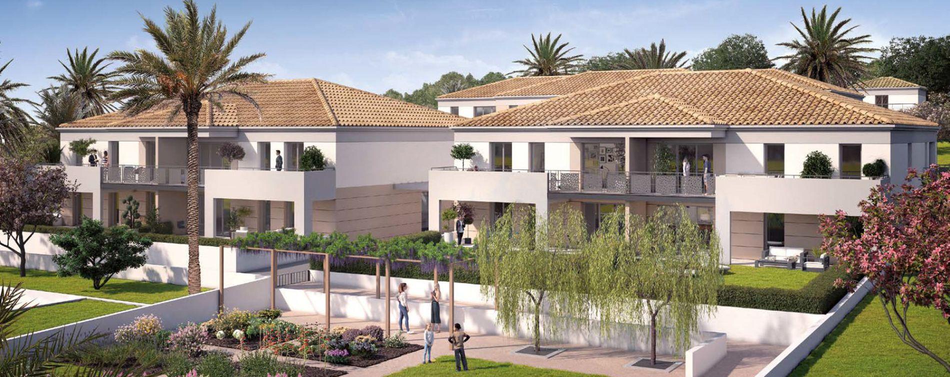Sanary-sur-Mer : programme immobilier neuve « Terra'Sana » en Loi Pinel
