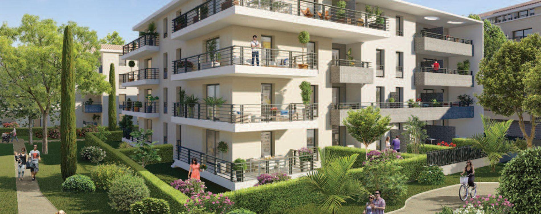 Six-Fours-les-Plages : programme immobilier neuve « Via Mare » en Loi Pinel
