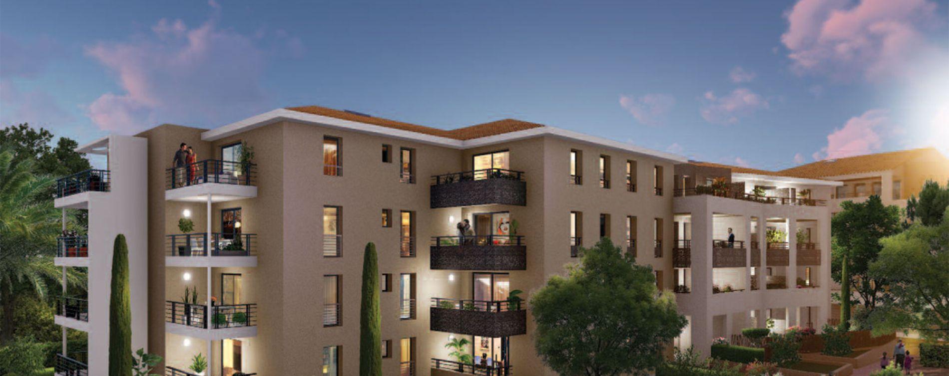 Six-Fours-les-Plages : programme immobilier neuve « Via Mare » en Loi Pinel (2)