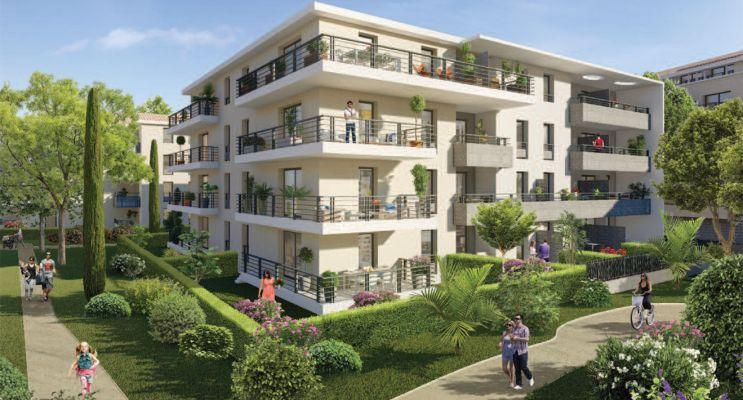 Six-Fours-les-Plages programme immobilier neuf « Via Mare » en Loi Pinel
