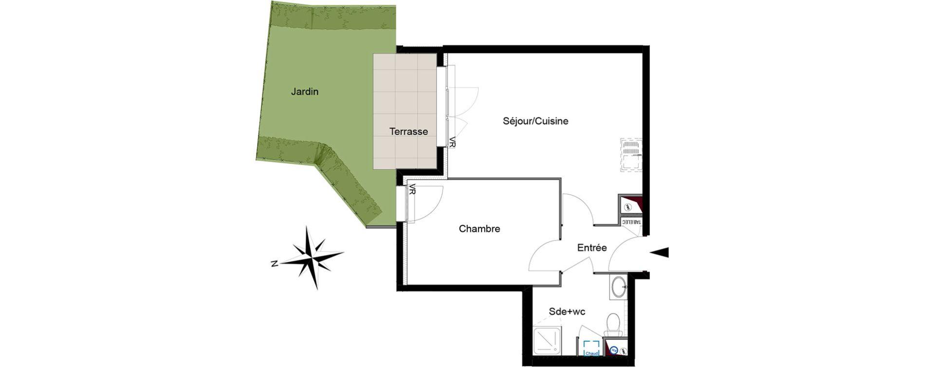 Appartement T2 de 39,95 m2 à Six-Fours-Les-Plages Centre