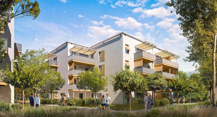 Résidence « Les Allées Du Château » programme immobilier neuf en Loi Pinel à Solliès-Pont n°1