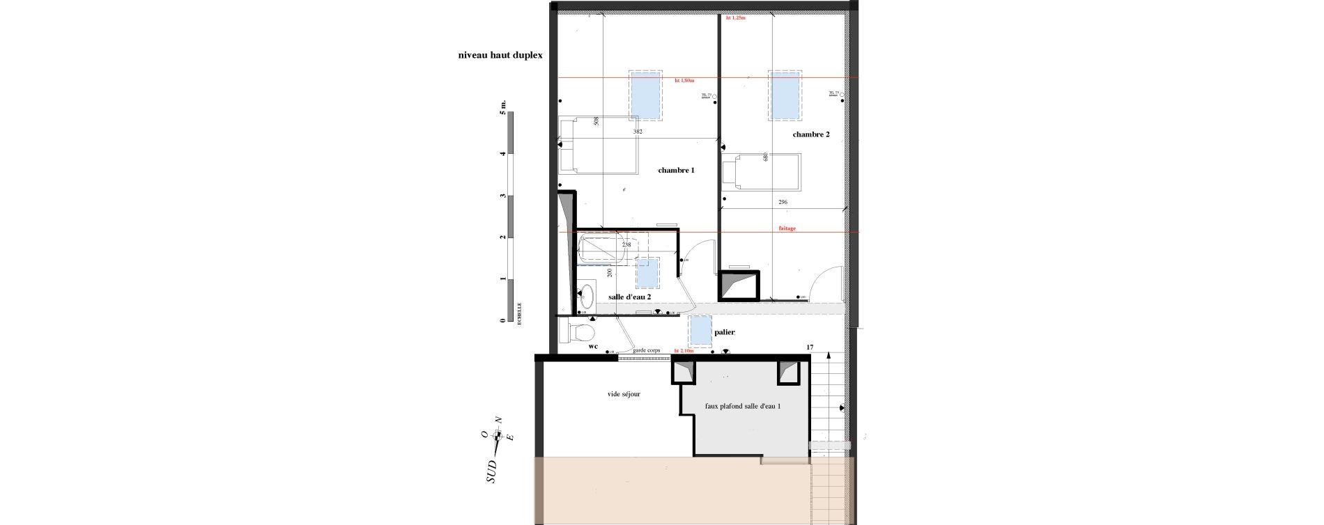 Appartement T3 de 78,16 m2 à Toulon Le faron