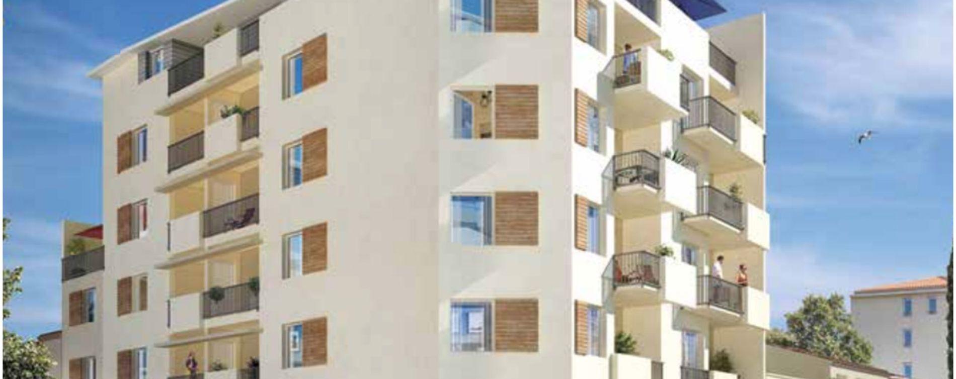 Toulon : programme immobilier neuve « Carré Majorelle » en Loi Pinel