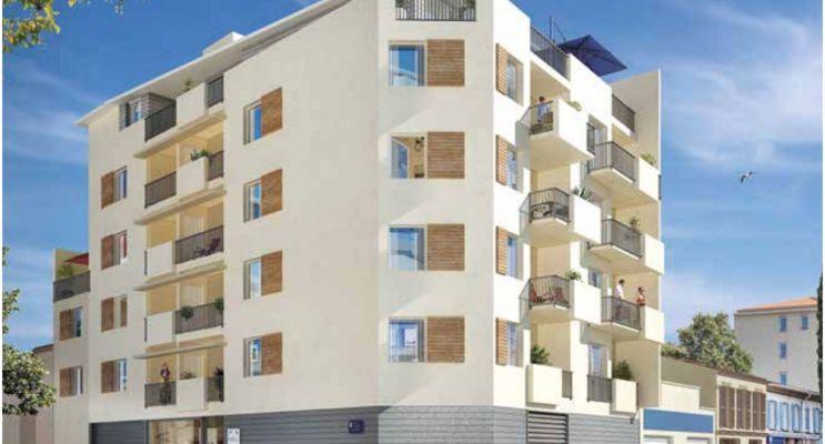 Photo du Résidence « Carré Majorelle » programme immobilier neuf en Loi Pinel à Toulon