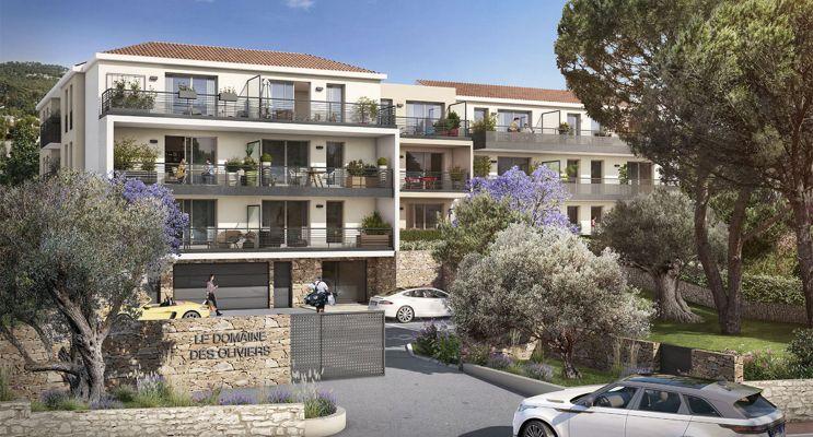 Toulon : programme immobilier neuf « Domaine des Oliviers » en Loi Pinel