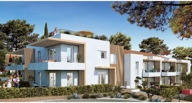 Photo du Résidence « Eclipse » programme immobilier neuf en Loi Pinel à Toulon