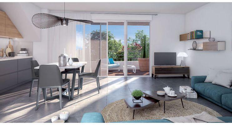 Photo n°3 du Résidence « Eclipse » programme immobilier neuf en Loi Pinel à Toulon