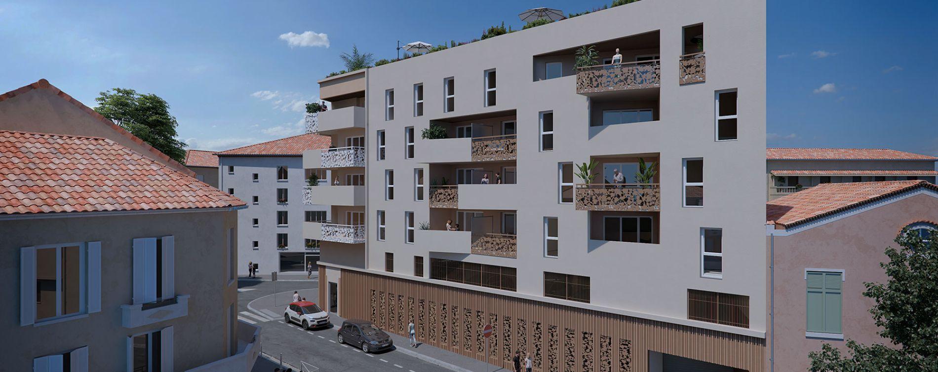 Résidence Krome 182 à Toulon
