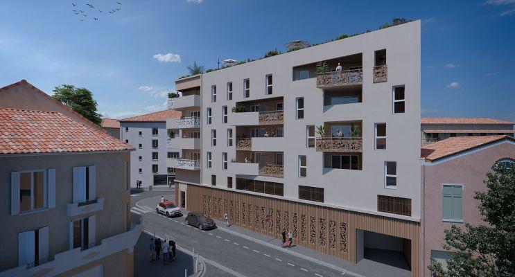 Photo du Résidence « Krome 182 » programme immobilier neuf en Loi Pinel à Toulon
