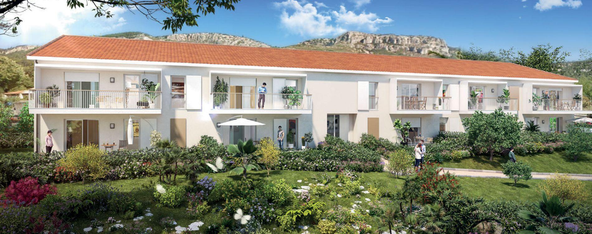 Toulon : programme immobilier neuve « Terra Olea » en Loi Pinel