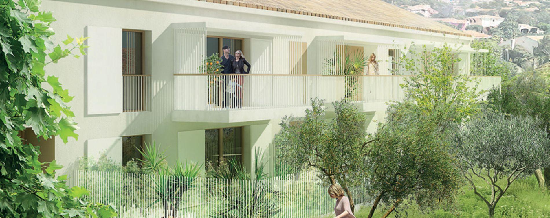 Toulon : programme immobilier neuve « Terra Olea » en Loi Pinel (2)