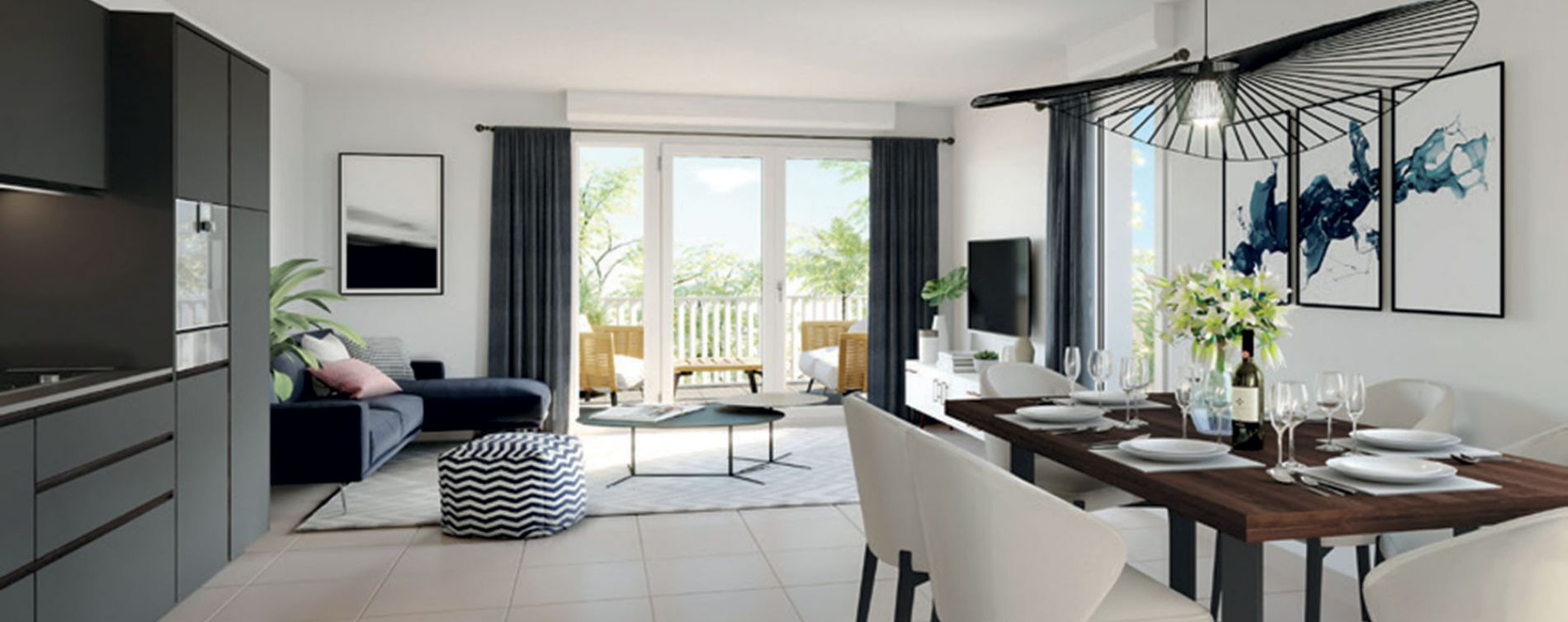 Toulon : programme immobilier neuve « Terra Olea » en Loi Pinel (3)