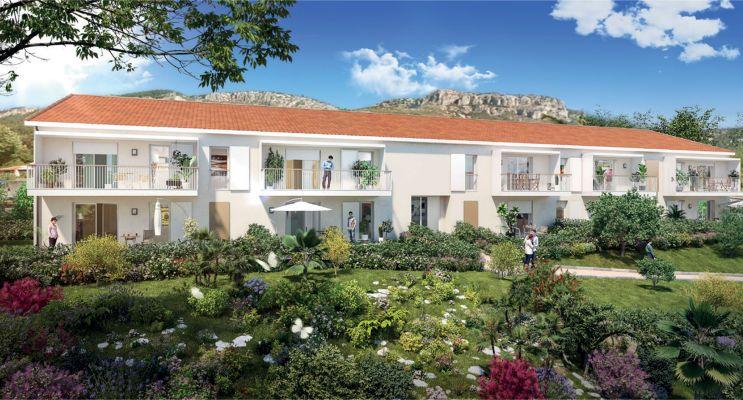 Photo du Résidence « Terra Olea » programme immobilier neuf en Loi Pinel à Toulon