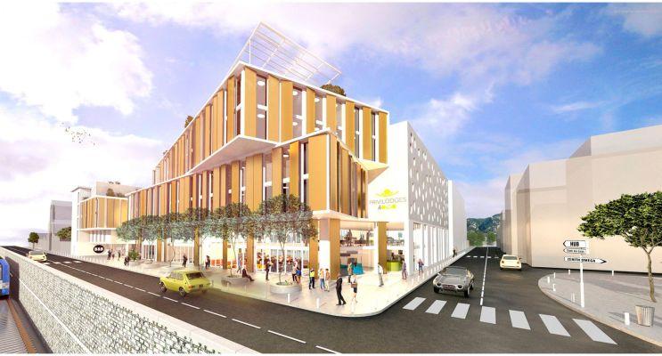 Toulon : programme immobilier neuf « Toulon Montety »