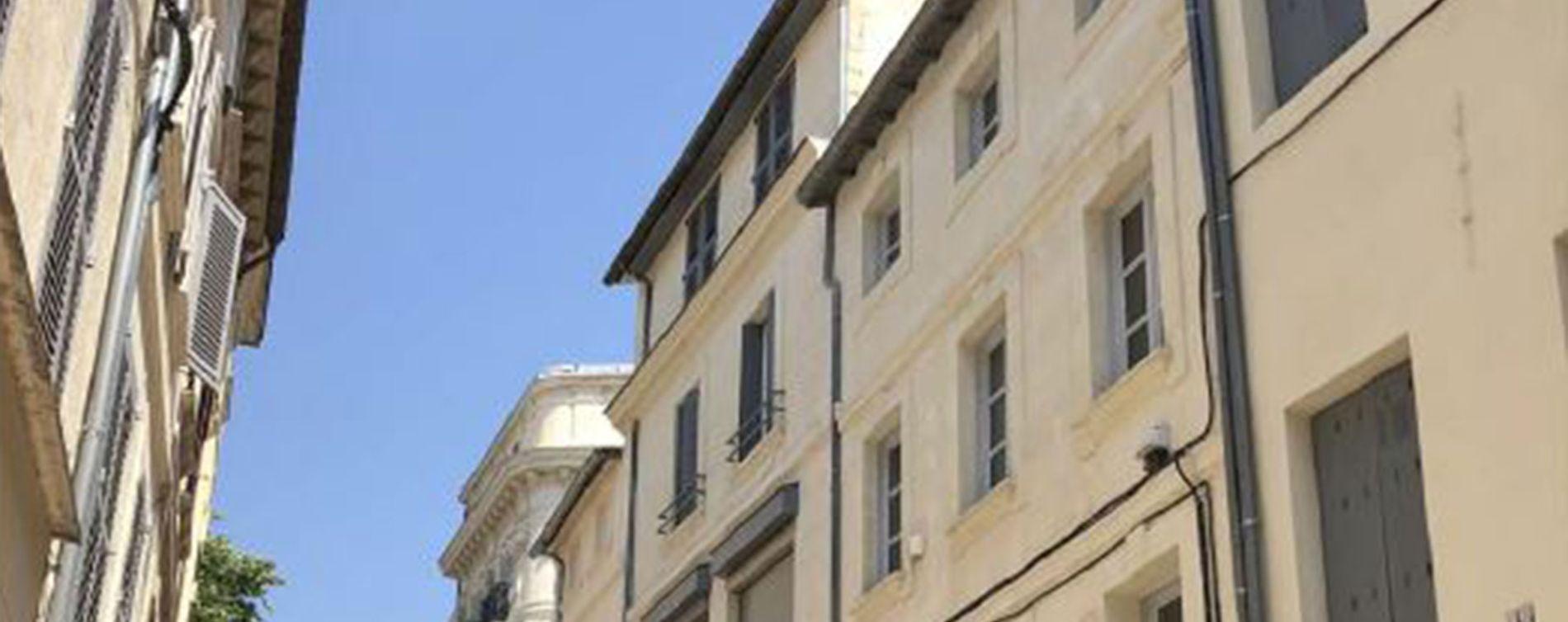 Avignon : programme immobilier à rénover « 20-22 rue Carnot » en Loi Malraux (2)