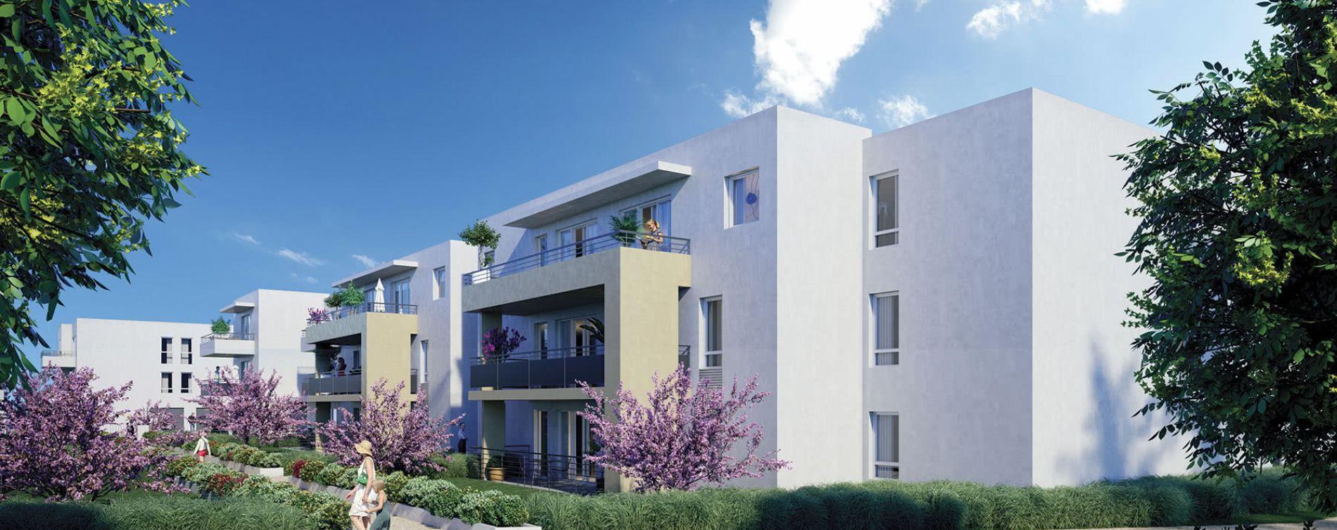 Avignon : programme immobilier neuve « Le Clos de la Mathe » en Loi Pinel