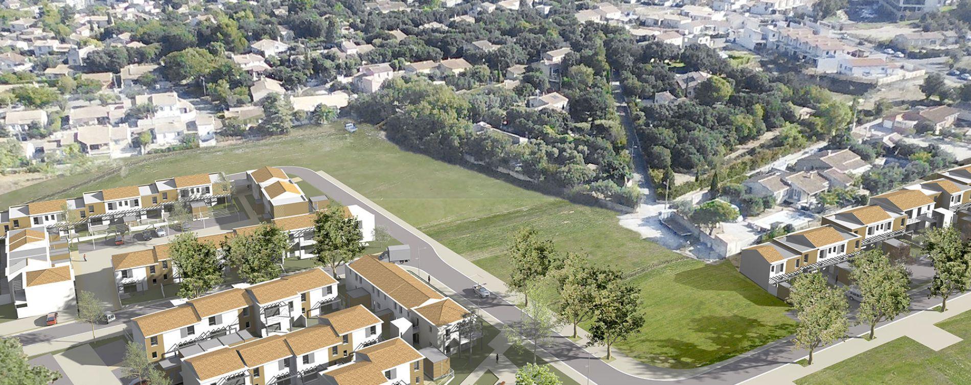 Bédarrides : programme immobilier neuve « Collection Village » en Loi Pinel (3)