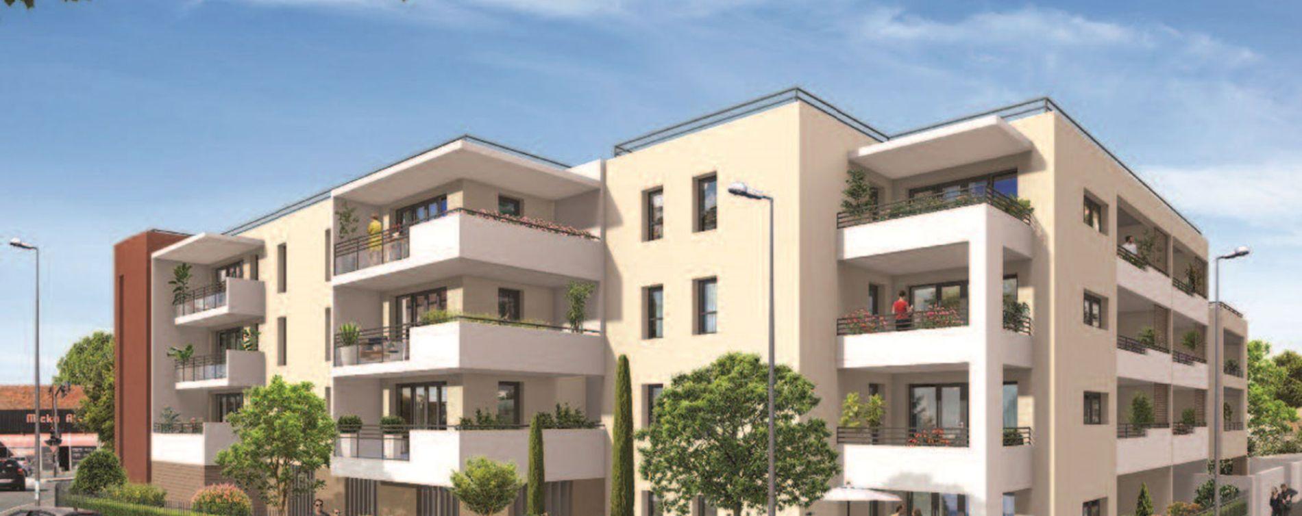 Le Pontet : programme immobilier neuve « L'Eveil » en Loi Pinel