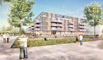 Monteux programme immobilier neuve « Le Patio du Lac » en Loi Pinel  (2)