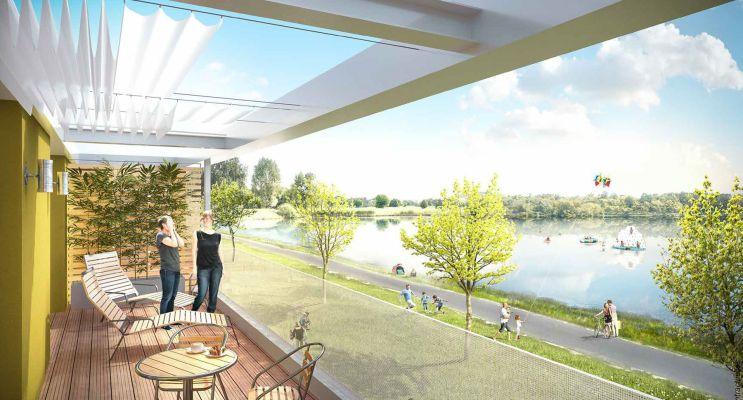 Monteux programme immobilier neuf « Le Patio du Lac » en Loi Pinel