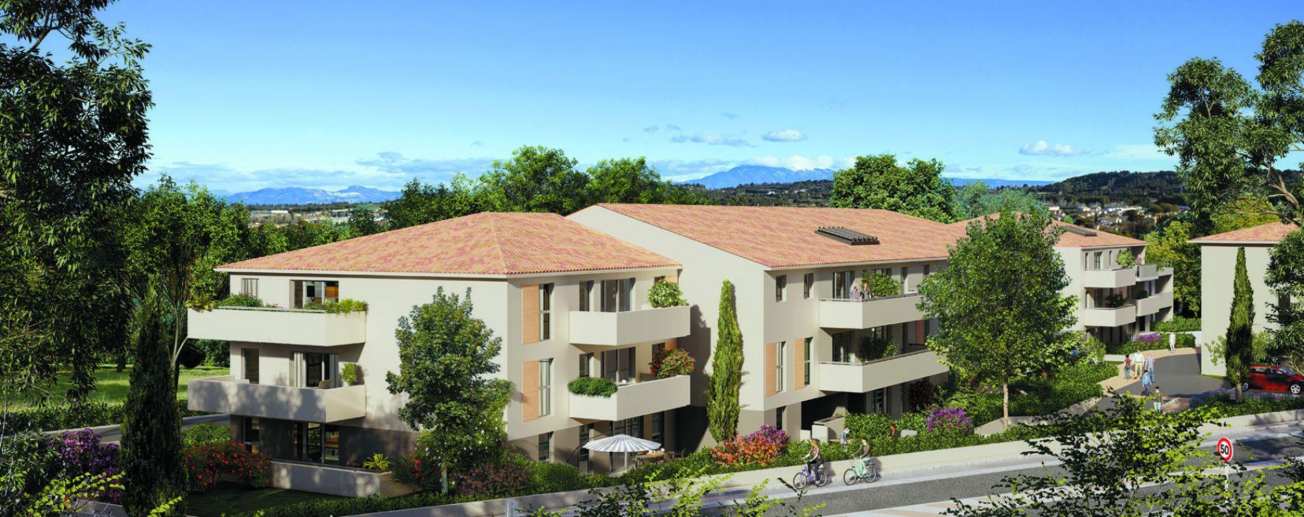 Morières-lès-Avignon : programme immobilier neuve « Verdesco » en Loi Pinel