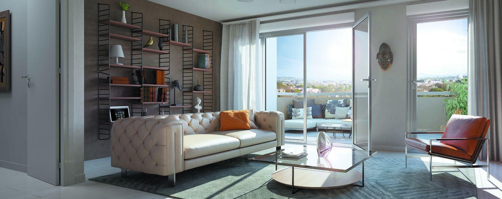 Morières-lès-Avignon : programme immobilier neuve « Verdesco » en Loi Pinel (2)