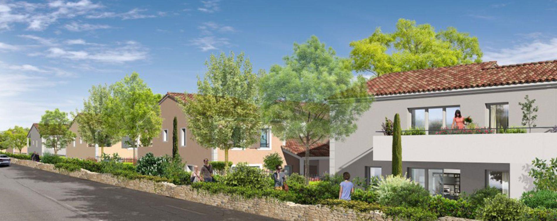 Pertuis : programme immobilier neuve « Luberance »