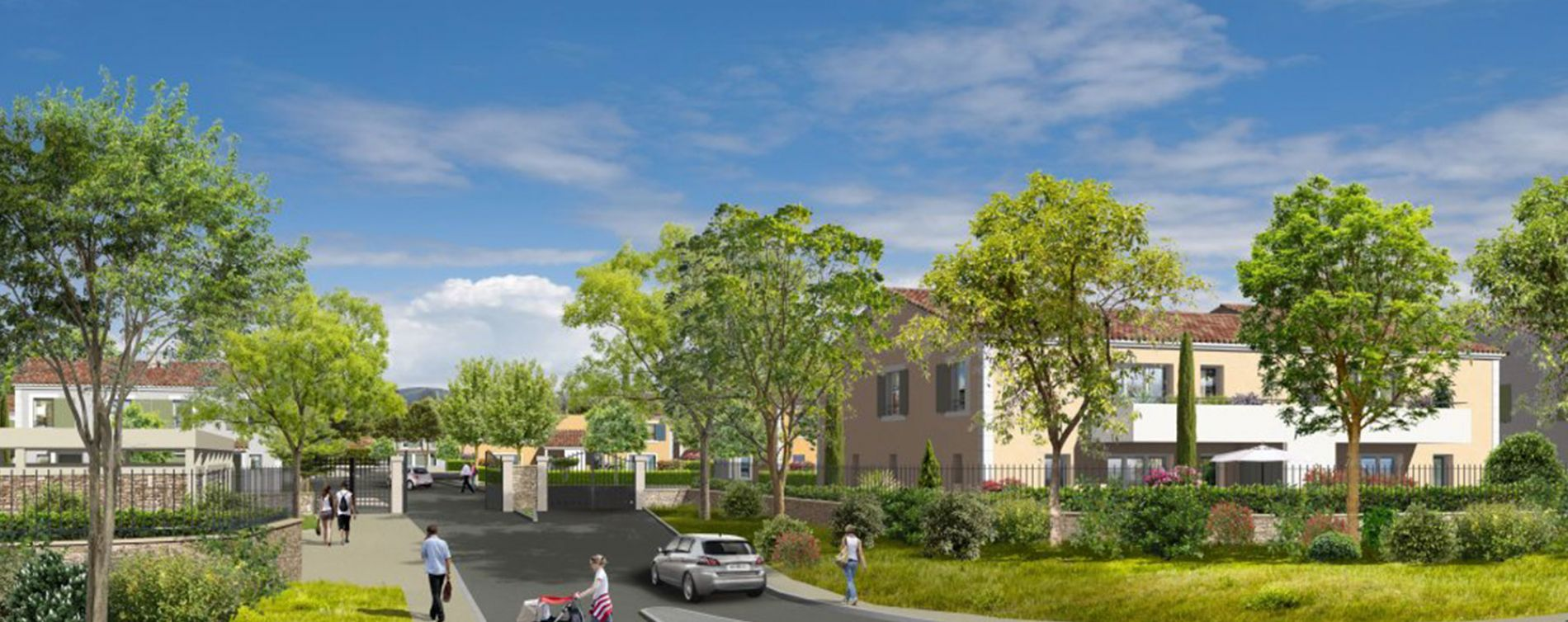 Pertuis : programme immobilier neuve « Luberance » (2)