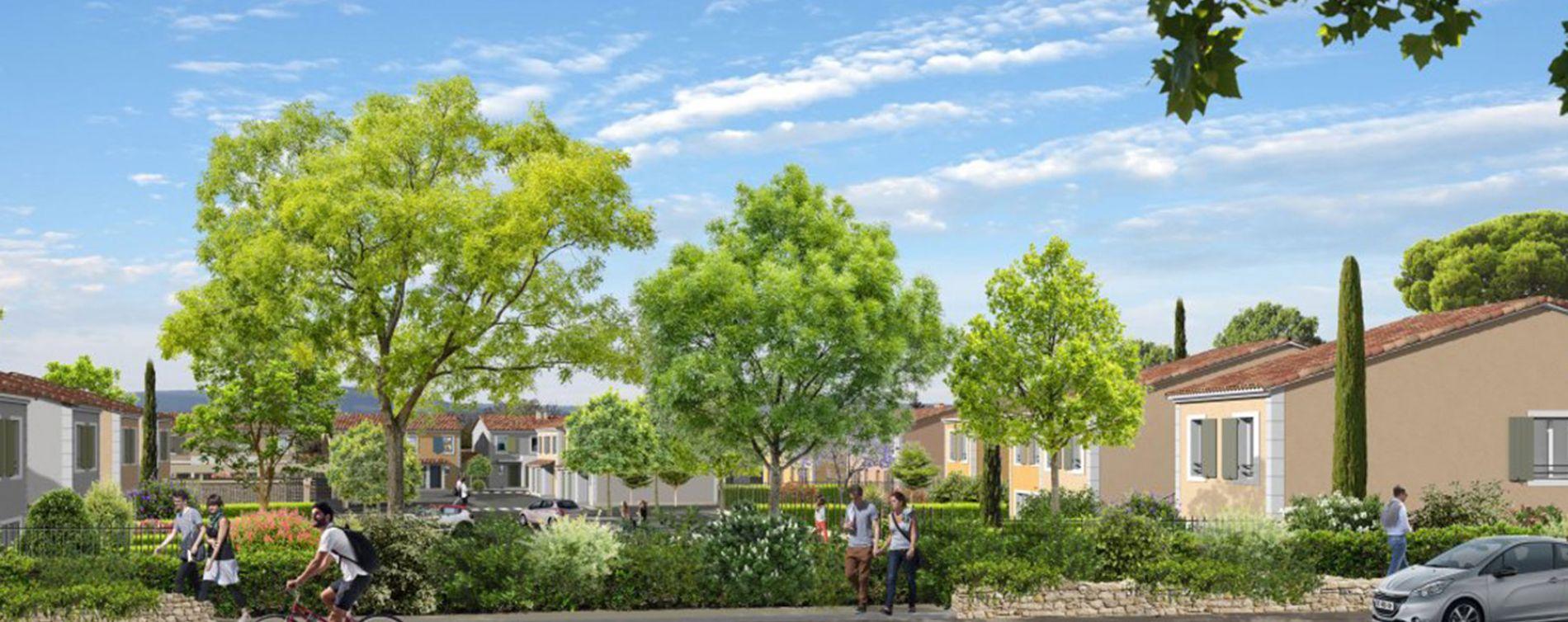Pertuis : programme immobilier neuve « Luberance » (3)