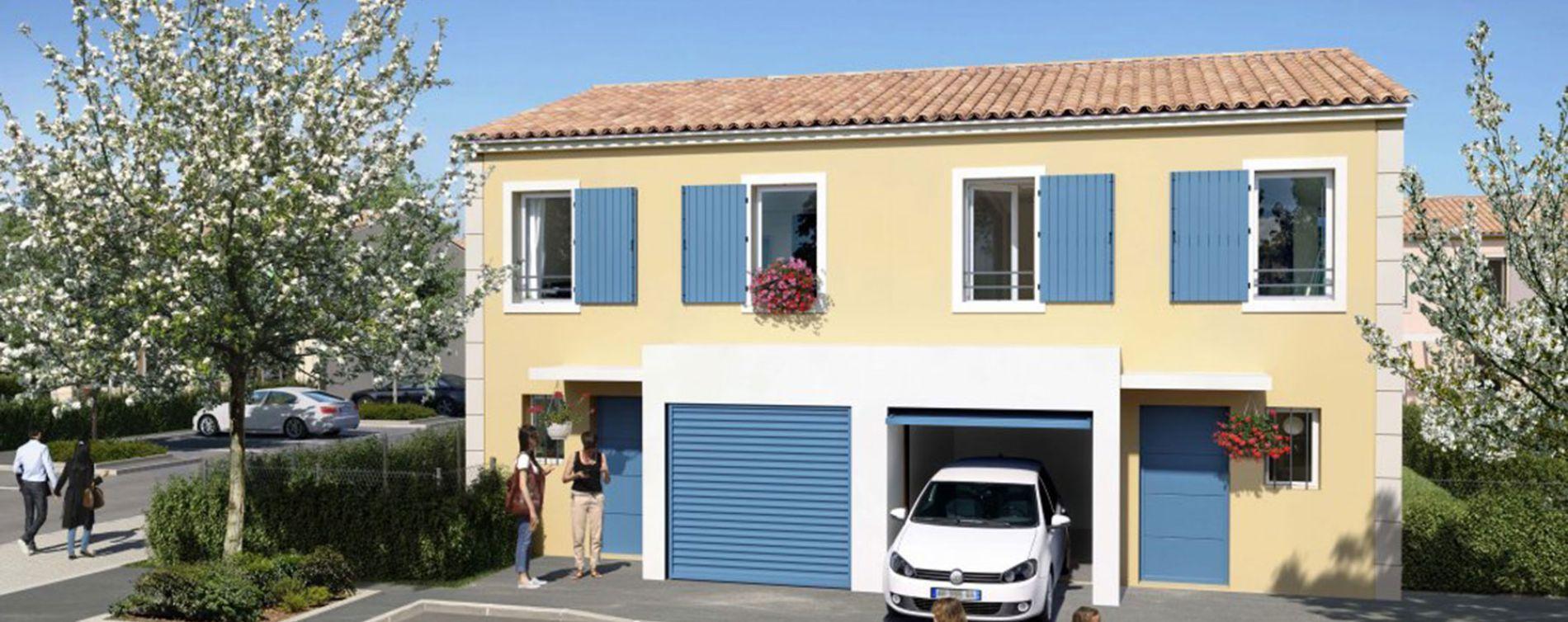 Pertuis : programme immobilier neuve « Luberance » (5)